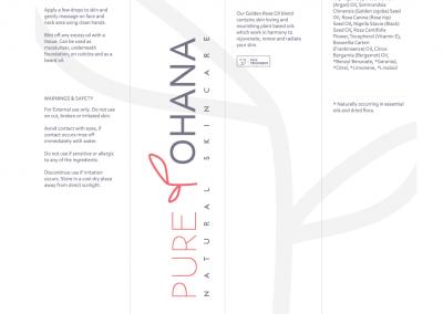 Pure Ohana Logo and Box design